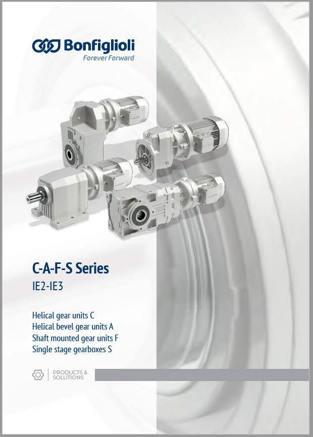 Product Catalogue –Industrial Gearmotors-C-A-F-S-IE2-IE3
