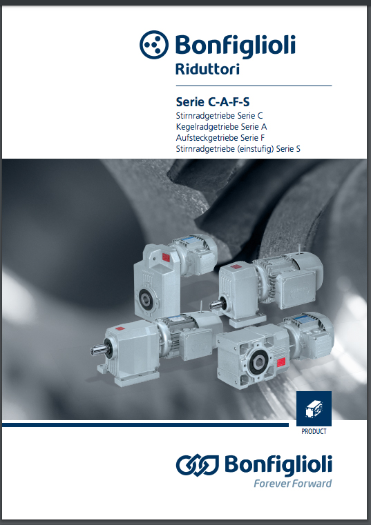 Product Catalogue –Industrial Gearmotors-C-A-F-S