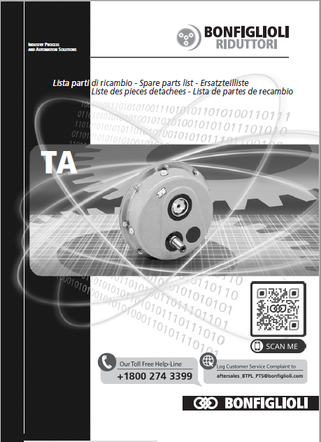 Installation, use and service Manual - TA series